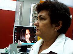 Olhe o flagra!!!! Mariana na telinha do pc que trabalho na UESC!!!! rs