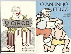 capas de dois trabalhos de contos infantis escritos por mim