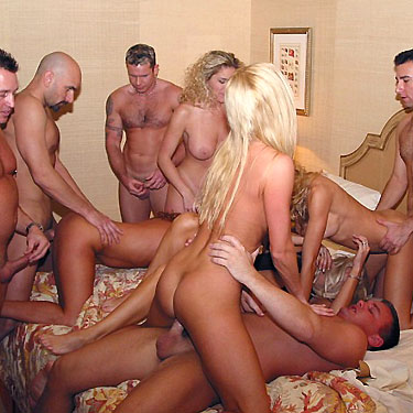 Damn nice naughty allie gangbang