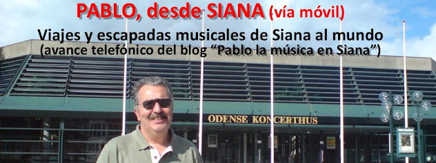 Pablo, la música en Siana (móvil)