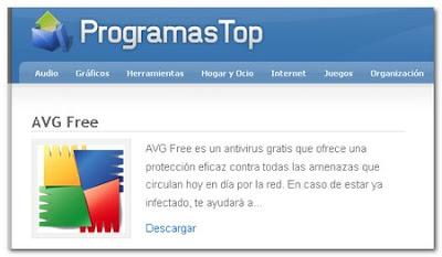Los mejores programas en Programas Top