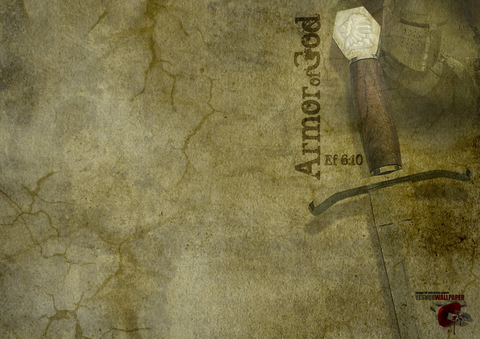 Christians wallpapers armor of god armadura de deus - Armor of god background ...