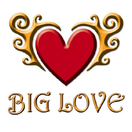 Love Logo 6 wor... K M Love Logo