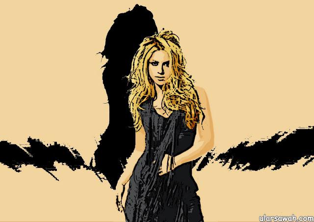 Shakira Cartoon Pictures