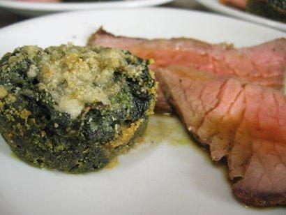 Sformato e Roast-Beef