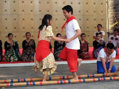 as the tinikling dance
