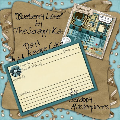 http://scrappymasterpieces.blogspot.com/2009/08/blueberry-latte-recipe-cards-day-1.html