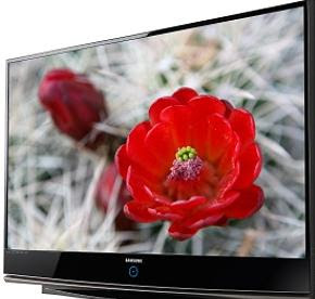 The Samsung HL61A750. An LED powered 61 inch 1080p 3D capable DLP TV (The future is 3D)