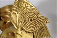 Fish and eagles design  (anglo-saxon treasure)