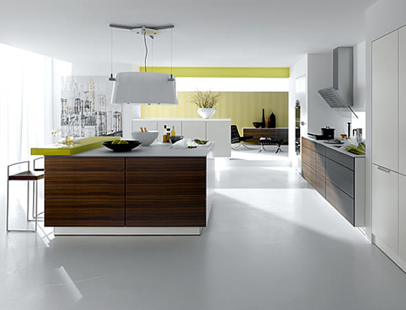 The minimalist concept of home design excellent house for Kitchen set minimalist design
