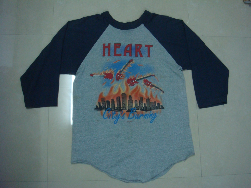 shirt t heart tour vintage