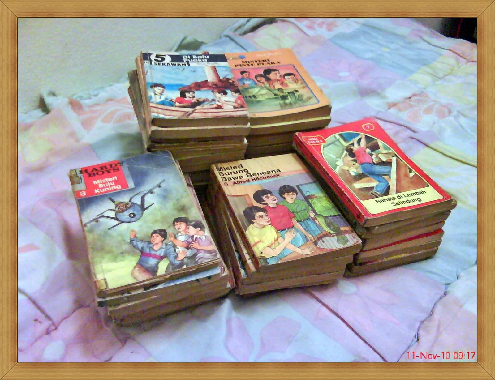 ha..ni la koleksi buku cerita time kanak2 aku..tetapi,yang ader kat ...