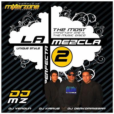 MIXER ZONE 51 Unique Style La+Mezcla+Perfecta+2+-+Front