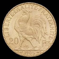 Le Franc fort et son coq