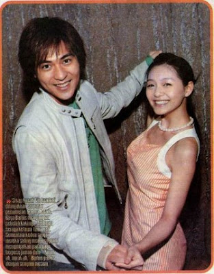 Vic Zhou and Barbie Hsu: Dansa..yuk dansa....
