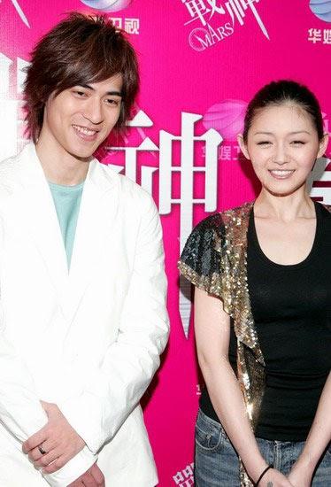 Vic Zhou and Barbie Hsu: Mars promo again