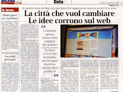 Sicilia Oggi del 31/05/08