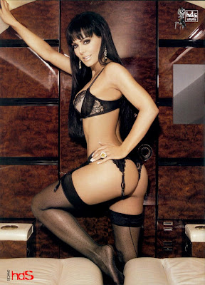 revista h extremo maribel guardia