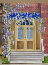 Wisteria Doorway