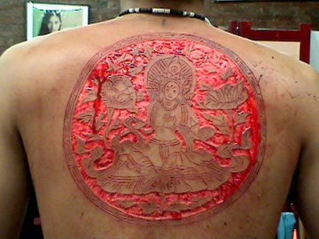 16 Most Weird Scarification Tattoos
