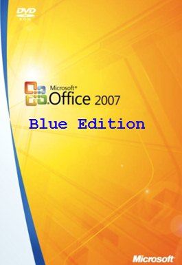 Microsoft Office 2007 Blue Edition