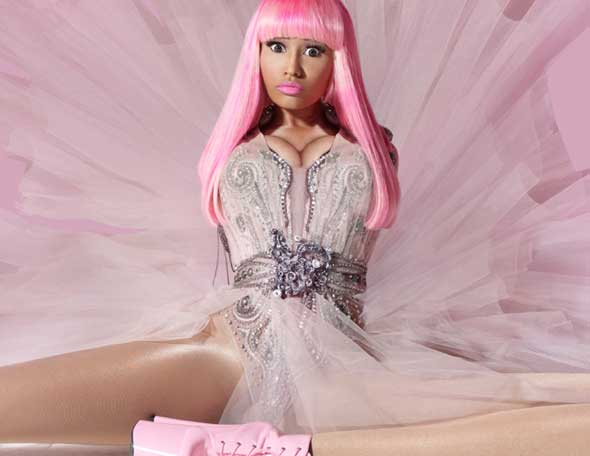 nicki minaj pink friday lipstick