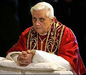 Intenciones del Papa para Noviembre 2009
