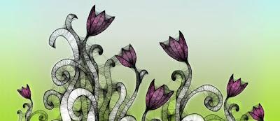 pinceles florales Photoshop