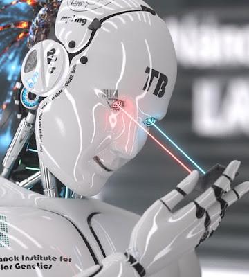 ilustraciones de robot