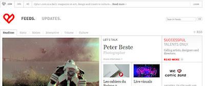 web inspiración diseño grafico