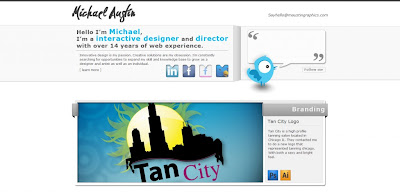 web de portafolios