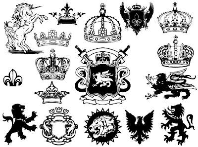 escudo en vectores