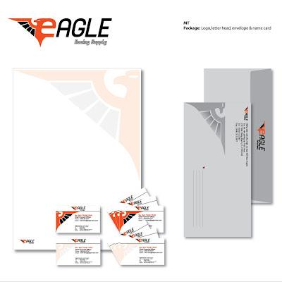 papeleria en vectores editable