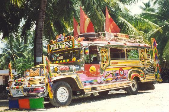 """سيارة الجيب """"الجبني"""" الفلبين"""