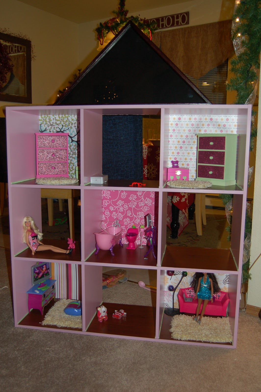 How To Make A Home Delectable Of DIY Barbie Doll House Images