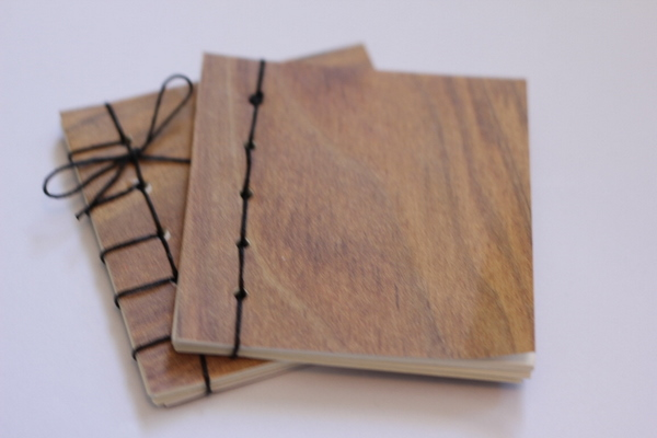 Wood Book Cover Diy : A little tutorial for making books see kate sew
