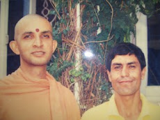Shiva Giri with Guruji