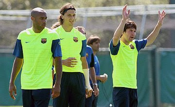 Ibrahimovic and Messi