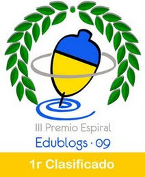1r PREMI EDUBLOGS 2009