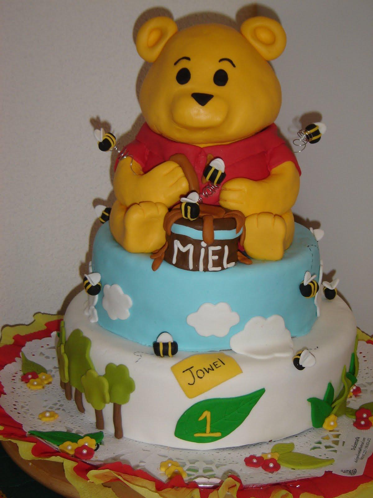 Tartas Caseras Madrid: Winnie de Pooh