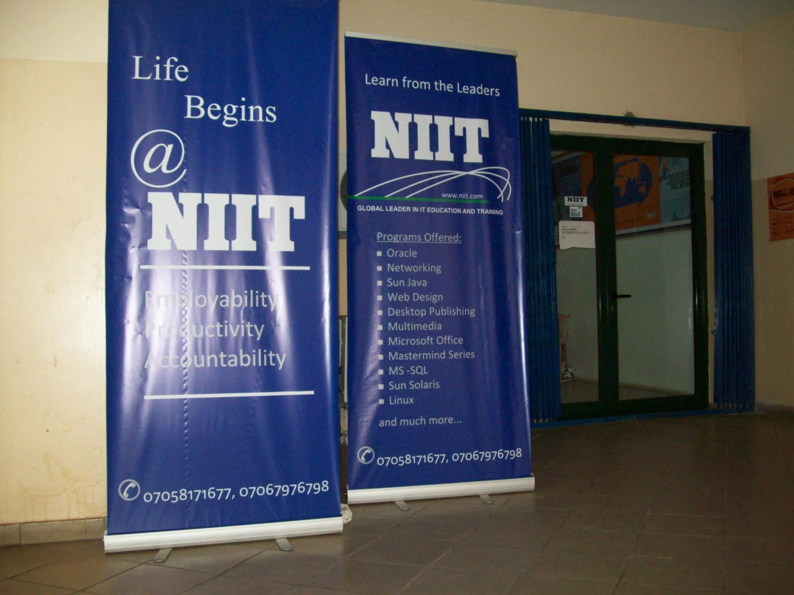 Niit nigeria study centres study oracle java mctip ccna etc below is a picture i snapped one of those days i was still studying java at niit onitsha yadclub