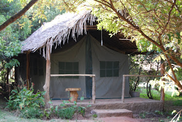 View of Enchoro Safari Tents