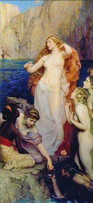 HERBERT DRAPER - Página 2 Herbert+Draper_(1864-1920)_The_Pearls_of_Aphrodite