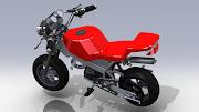 Pocket Bike. Cette petite moto sert de thème support pour des activités de .