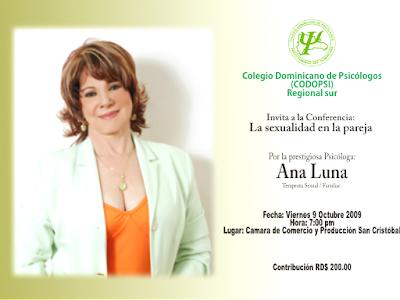 INVITACION / Colegio Dominicano de Psicólogos Regional Sur