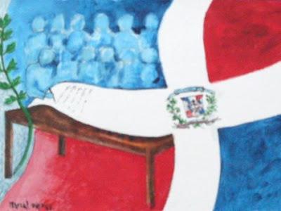 Congreso Constituyente de 1844: Primera Constitución de la República Domincana.