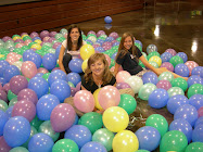 E, M, and S Balloons for BYU homecoming