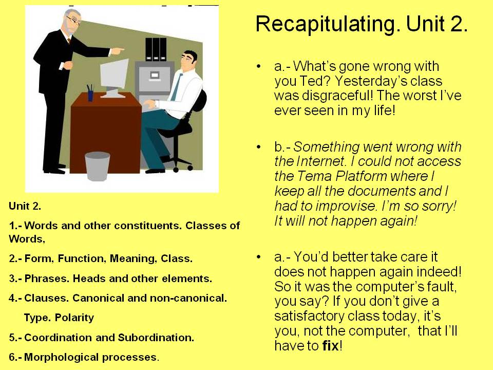 how can i use recapitulate in a sentence