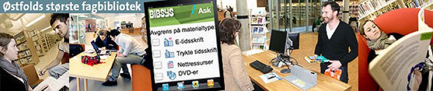 Bibliotekstatistikk ved Høgskolen i Østfold
