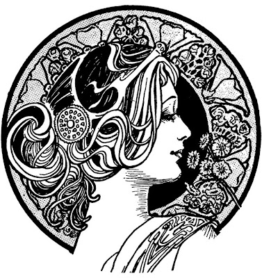 Art Nouveau Designs. that I#39;m an art nerd.